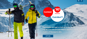 Club Med Sales Canada – Win a trip for 2 to the Club Med Resort valued at $7,800