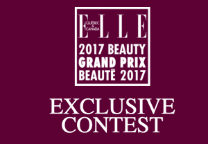Elle Quebec – 2017 Beauty Grand Prix Beaute – Win 1 of 10 prize packs valued at $1,953 each