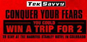 Entertainment One Films – Jigsaw TekSavvy – Win a trip for 2 to a Estes Park, Colorado valued at $2,500 CDN