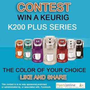 Flyers Online – Win a Keurig K200