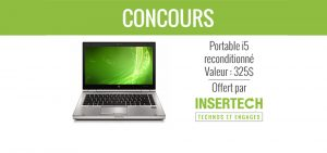 Francoischarron.com – Concours – Win a laptop i5 HP 8460p from Insertech valued at $325