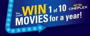 "General Mills Canada – Life Made Delicious ""Movies for a Year"" – Win 1 of 10 prizes of movies pass for a year valued at $1,400 CDN each"