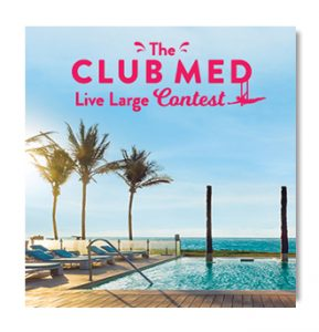 Jean Coutu – The Club Med Live Large – Win a one-week, all-inclusive vacation package for 2 at Club Med Cancun Yucatan, Mexico