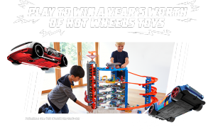 Mattel Canada – The Hot Wheels Take the Challenge – Win 1 of 4 prize packages valued at $1,000 CDN each