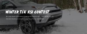 Michelin North America – BFGoodrich Winter Tire -Win a set of 4 BFGoodrich Winter T/A KSI winter tires valued at $1,104