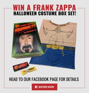 MusicVaultz – Win a Frank Zappa Halloween Costume Box Set