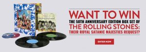 MusicVaultz – Win a grand prize package of The Rolling Stones 'Their Satanic Majesties Request' box set