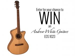 Premier Guitar – Win an Andrew White Guitars EOS 1023 valued at $1,669