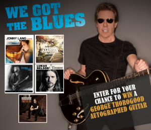 Sunrise Records and Universal Music Canada – Win a signed George Thorogood Guitar valued at $300 CDN