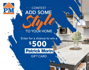 TC Media – Add Some Style to Your Home – Win a $500 Patrick Morin gift card