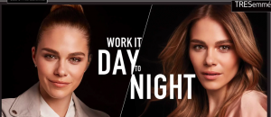 TRESemme – Work It Day To Night – Win 1 of 5 Shopping mall gift cards valued at $1,000 each