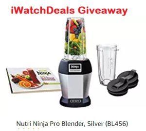 iWatch Deals – Win a Nutri Ninja Pro Blender, Silver