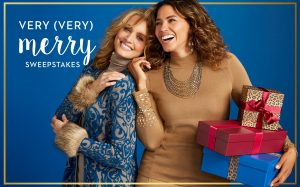 Chico's FAS – Very (Very) Merry – Win 1 of 3 Chico's gift cards valued at $500 each.JPEG