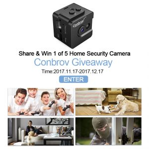 Conbrov – Win 1 of 5 Home Security Cameras