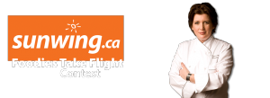 Corus Sales – Sunwing.ca Foodies Take Flight – Win a family trip for 4 to Punta Cana, Dominican Republic valued at $9,000