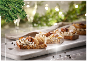 Fromageries Bel Canada – Win 1 of 42 Miss Fresh x Boursin festive boxes valued at $250 each