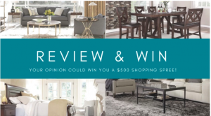 Furniture.CA – Review and Win 1 of 4 promotional coupon codes valued at $500 each to be used towards a purchase online at Furniture.ca