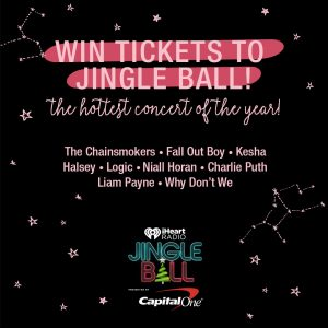 Garage – Win 2 concert tickets to the Jingle Ball concert in Philadelphia, 2 gift cards & accommodation (total valued at $2,500)