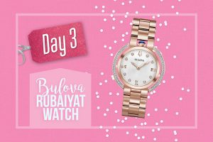 Groupe TVA – 12 Days of Giveaways – Day 3: Win a Bulova Rubaiyat Watch valued at $1,195