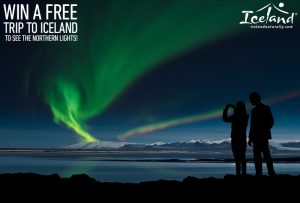 Iceland Naturally – Northern Lights Getaway – Win a Trip for 2 to Iceland valued at $3,500 OR Runners-up Prizes