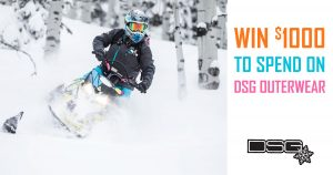 Mountain Sledder Magazine – Win $1,000 credit at DSG Outerwear