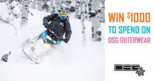 Mountain Sledder Magazine – Win $1,000 credit at DSG Outerwear