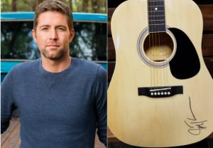 Sound Like Nashville – Win a Josh Turner Autographed Guitar valued at $250