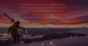 Sporting Life – Icebreaker New Zealand – Win a trip for 4 to New Zealand