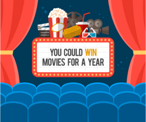 Tribute Publishing – Win free movies for a year(12 passes for 2) valued at $240