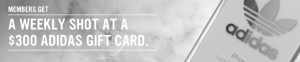 Virgin Mobile Canada – Adidas Gift Card – Win 1 of 6 Adidas Gift Cards valued at $300 each