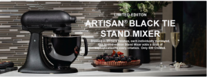 Whirlpool Canada – Win a KitchenAid Artisan Black Tie Limited Edition Stand Mixer valued at $1,299