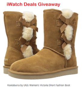 iWatch Deals – Win a pair of UGG Boots