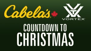 CTV – Cabela's Countdown to Christmas – Win a grand prize valued at $1,989 OR 1 of 10 minor prizes