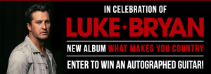 Canada.com – Win a Gibson acoustic guitar autographed by Luke Bryan valued at $500