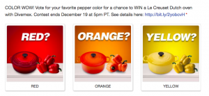 Divemex & Oppy – Win a $400 USD Le Creuset Gift Card