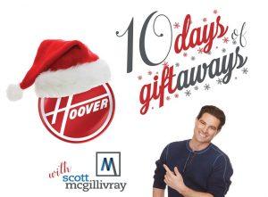 Hoover Canada – 10 Days of Giftaways with HGTV Host Scott McGillivray