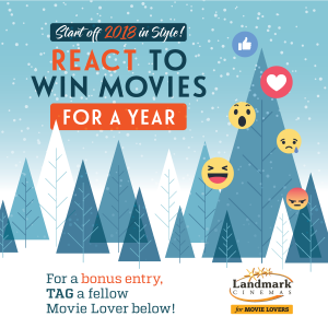 Landmark Cinemas Canada – Win a Year of Free Movies
