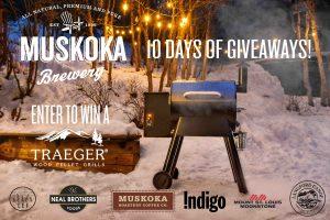 Muskoka Brewery – 10 Days of Giveaways – Win 1 of 10 prizes