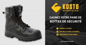 SPI Health and Safety – Win a pair of Kosto Brand Safety Boots valued at $200 CAD