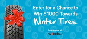 Save.ca – Win $1,000 Visa Gift Card towards Winter Tires