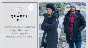 Simons – Canada 150 – December Discovery Box – Win a Genia parka for women or the Champlain parka for men