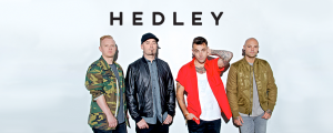 Air Miles – Hedley Cageless – Win 1 of 24 exclusive VIP concert experiences for 2