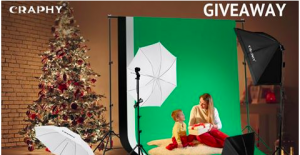 Craphy – Win Craphy Photo Studio Lighting Kit valued at over $159