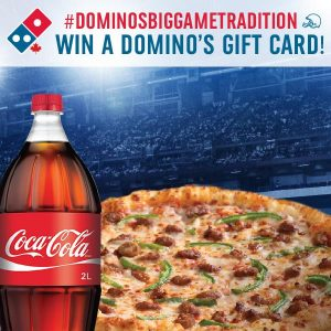 Domino's Pizza – Win 1 of 35 Domino's Gift Card valued at $35 each