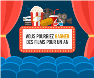 Enprimeur – Win movie tickets for one year valued at $240