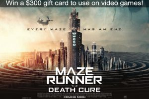 Exclaim – Maze Runner: Death Cure – Win a $300 gift card to EB Games