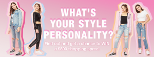 Garage – Win a $500 shopping spree