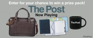 Landmark Cinemas – Win 1 of 5 The Post prize packs valued at $135 each