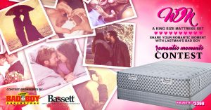 Lastman's Bad Boy – Romantic Moments – Win a Bassett Glenville Collection Mattress Set valued at $3,685