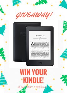 Olimpbooks – Win a Kindle Paperwhite E-Reader in Black with Built-in-light, Wi-fi valued at $120